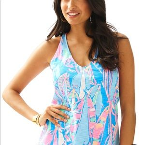 Lilly Pullitzer bay blue out to sea minka NWT